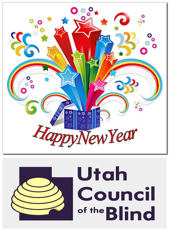 Happy New Year from the Utah Council of the Blind